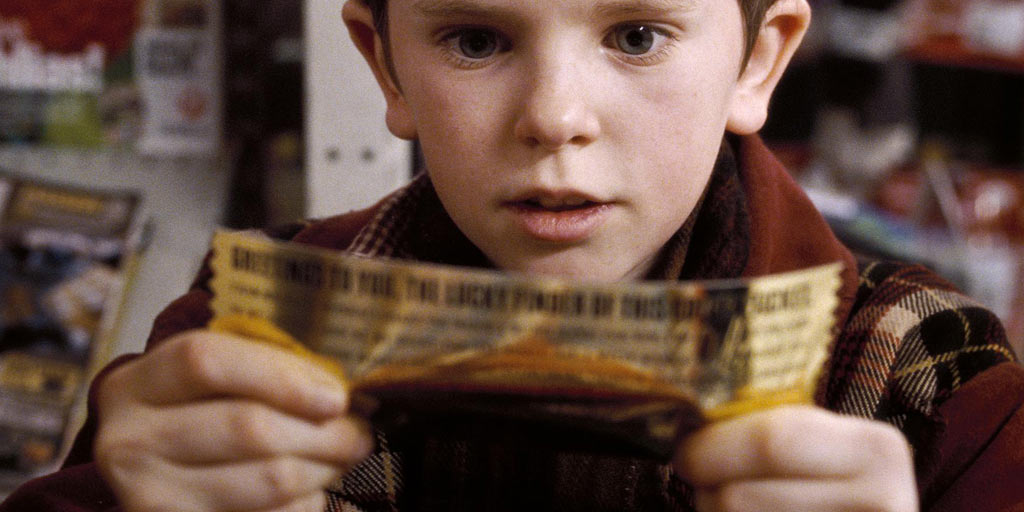 Golden Ticket Winners From Charlie And The Chocolate Factory